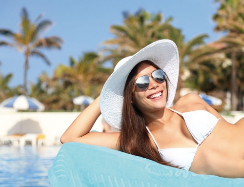 Hotel mit Pool der besonderen Art